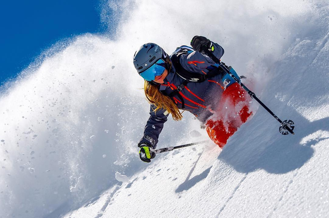 @valentina.fankhauser Snowboarding and ski female shots of the week