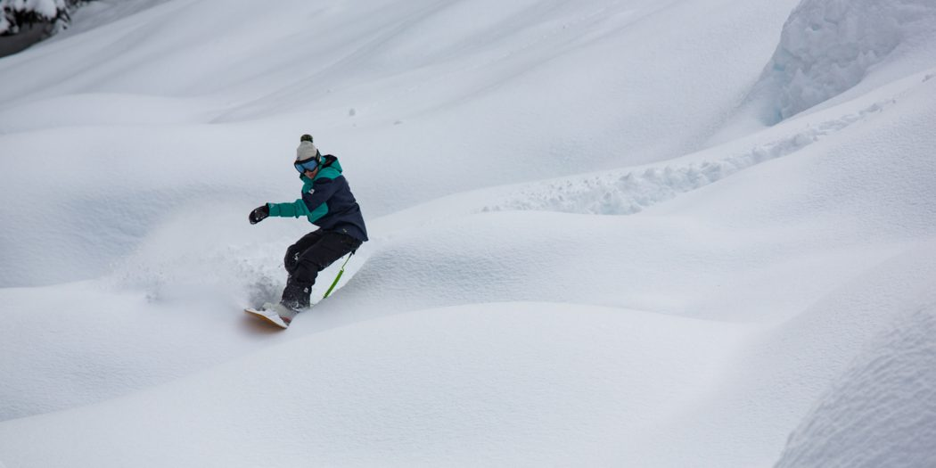 Plowing Through Powder With Mary Rand