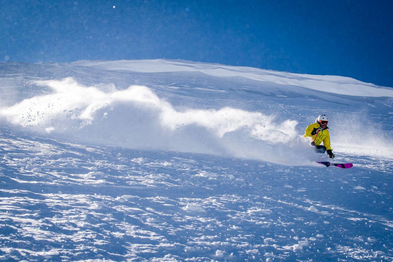 Early season powder. European ski resorts that are open right now.