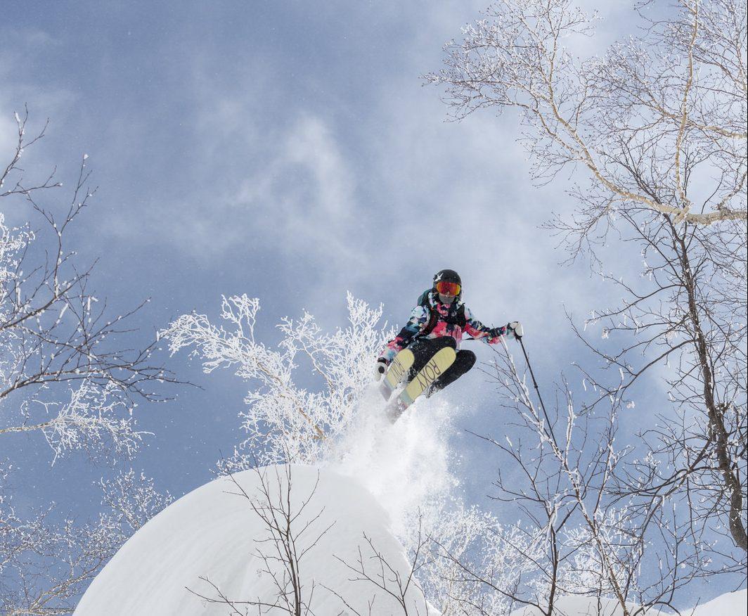 Lena in Japan. SnowSista