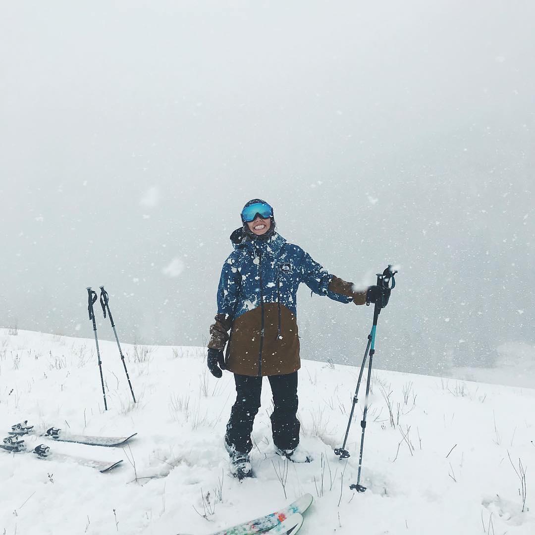 @babygotbackcountry Snow Sista Photos of the Week. Snowboarder skier