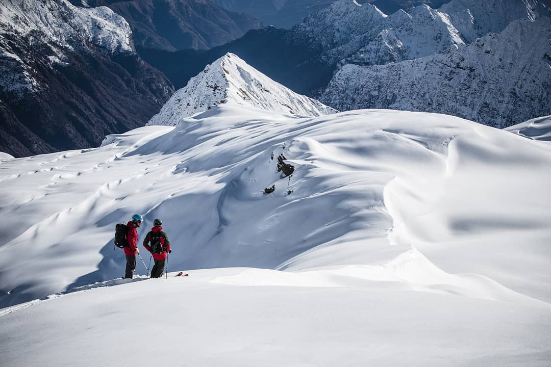 Alps New Year SnowFall