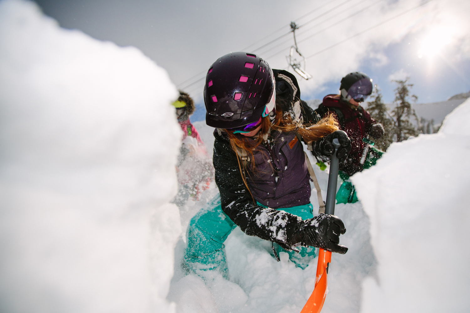 Take A Mountain Safety Course New Year Resolutions for Girl Skiers and Snowboarders
